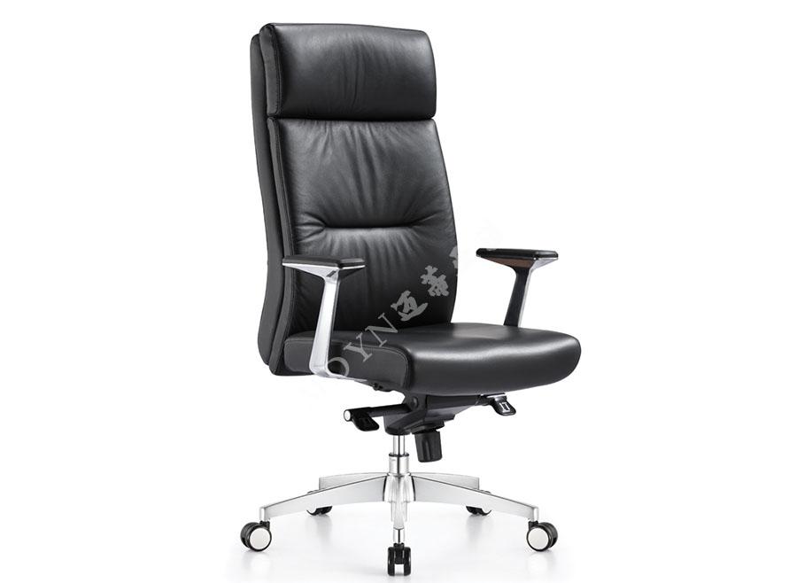 老板经理牛皮大班椅-KY1008