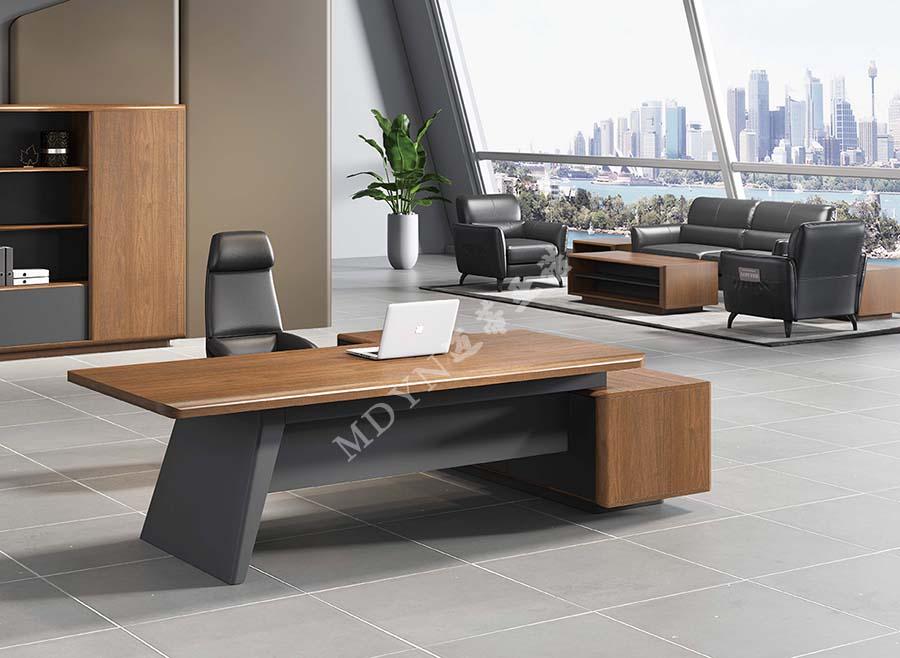 实木办公桌图片尺寸价格-MY301