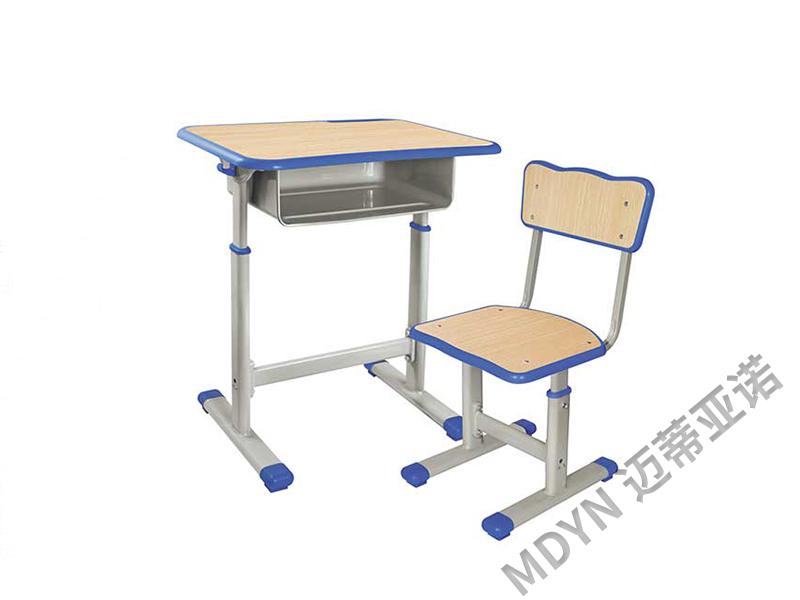 学生手摇升降课桌椅-MY009